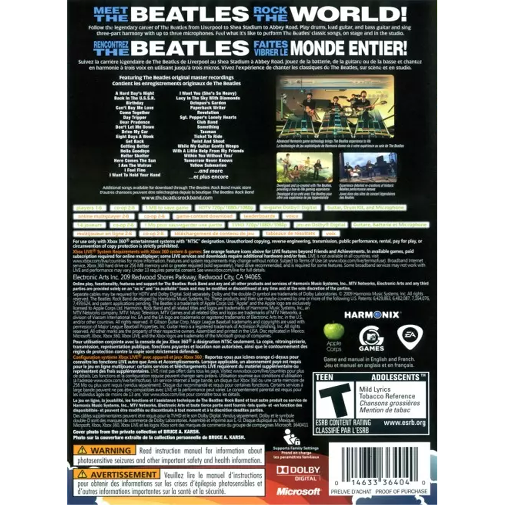Rock Band: The Beatles – Outlaw's 8-Bit and Beyond