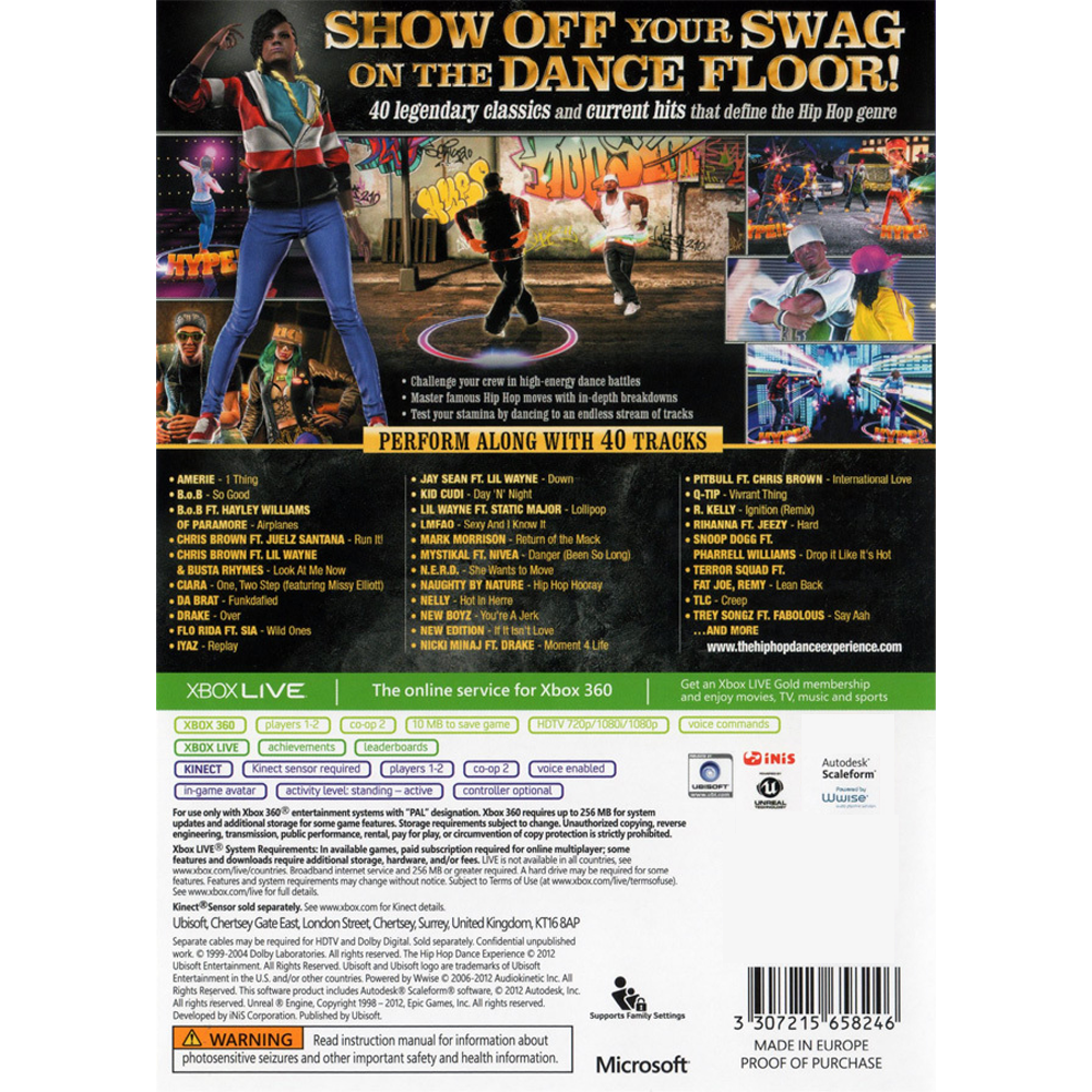 The Hip Hop Dance Experience – Xbox 360 – Outlaw's 8-Bit and