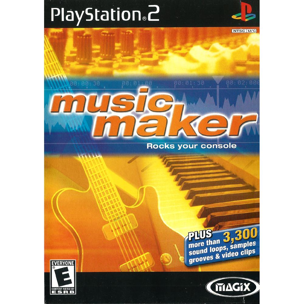 MAGIX music maker - PS2